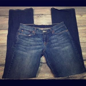 Lucky Brand Dungarees Flare Jeans Sz 28